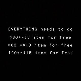 EVERYTHING needs to go