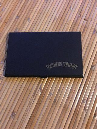 SOUTHERN COMFORT METAL CARD HOLDER