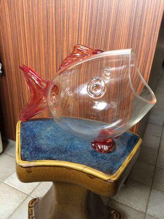 Glass Display Terrarium Koi Goldfish Bowl  Potpourri