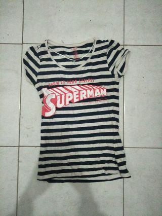 kaos cotton on superman