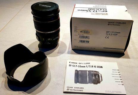 Canon EFS 17-55mm USM lens