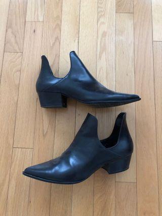 Zara cut out booties
