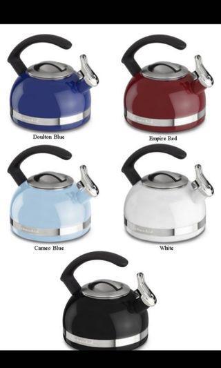 Kitchenaid kettle in black