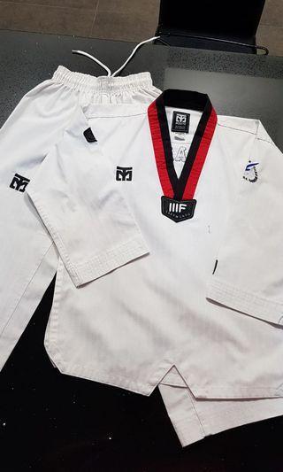 Taekwondo TKD Uniform poom STF 120 130