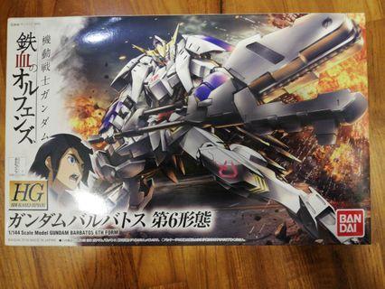 HG Gundam Barbatos 6th Sixth Form 1/144