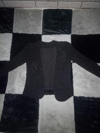Jaket blezer hitam