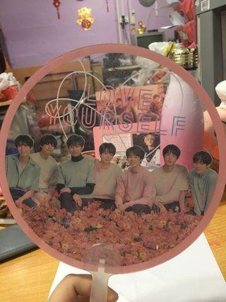 🚚 BTS Transparent Fan