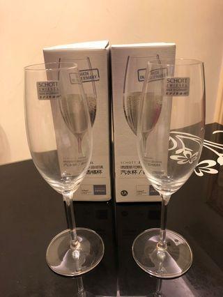 🚚 德國蔡司無鉛水晶玻璃香檳杯(2入)
