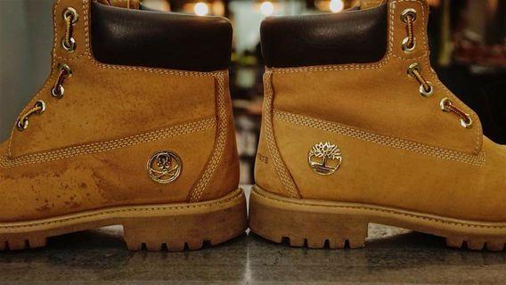Timberland boot cleaning