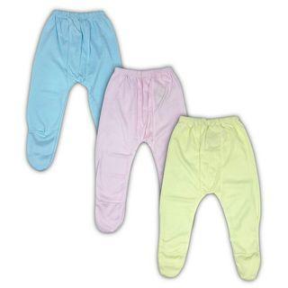 3 Pcs Celana Panjang Tutup Kaki Bayi Newborn Unisex Polox