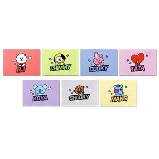[OFFICIAL] BT21 MEMO PAD POP