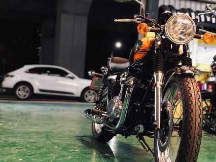 Kawasaki 2016 W800 橘色配色 最終版配色  新古美二手