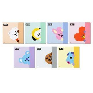 [OFFICIAL] BT21 MEMO PAD SQUARE