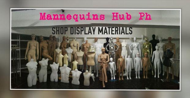 Mannequins and Shop Display Materials