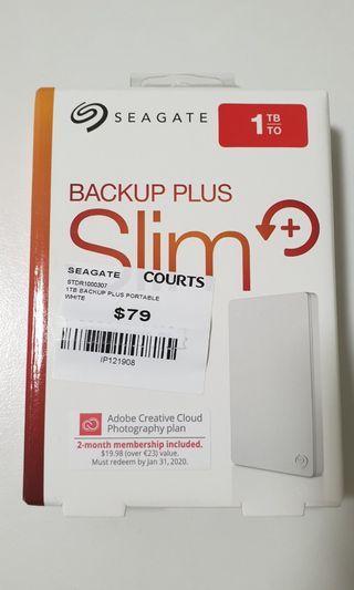 💡Seagate Backup Plus Slim 1TB