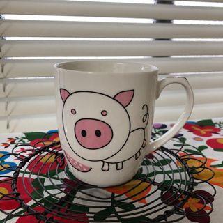 🚚 小豬馬克杯 杯子