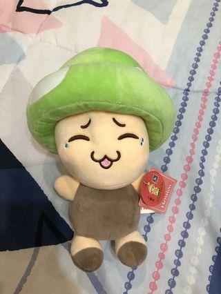 Mushroom soft toy