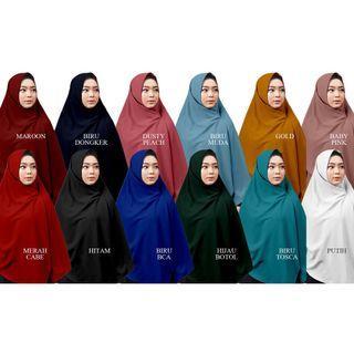 hijab segi empat syari wolfis 150x150 jumbo grade original