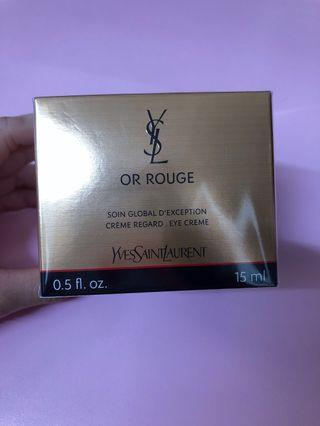 YSL or rouge眼霜