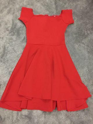 Dress kerah sabrina