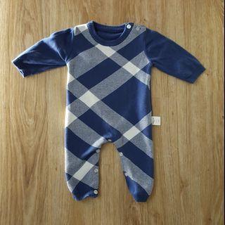 🚚 小型男針織棉連身衣