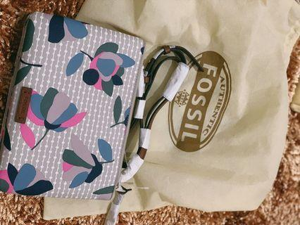 Fossil Devon Floral Crossbody Bag