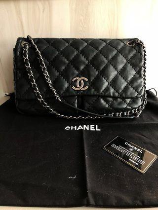 Authentic black Chanel bag