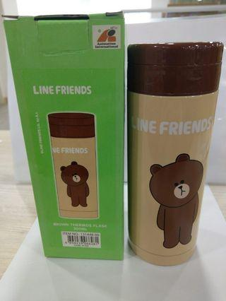 Line friends Brown Thermos 膳魔師 保温杯
