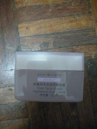 PEARLOSOPHY ROSE FACE MASK
