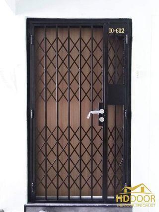 HD DOOR 10% Off digital locks , doors and gate package