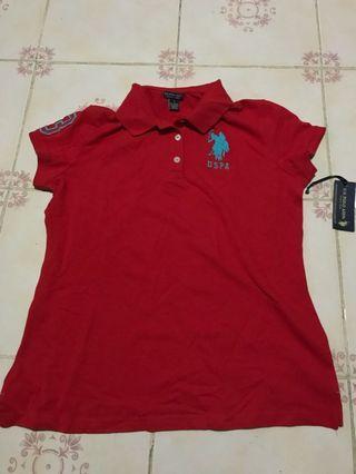 USPA Red Polo Shirt