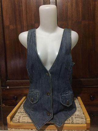Vintage Vest jeans Route 66 Original Clothing co