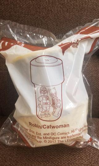 全新 未拆 Robin catwoman 膠杯