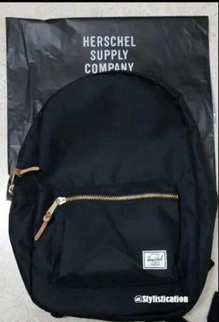 e375856cd02 black herschel settlement backpack