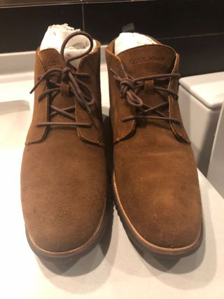 d29f36431afb Cole Haan Zerogrand OS Suede Chukka Boot