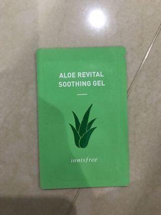 Innisfree aloe soothing gel