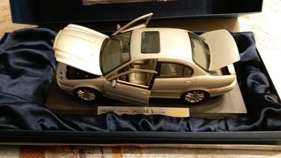 The limited edition scare model Jaguar X-Type