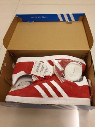 Adidas Originals Gazelle Red Sneakers