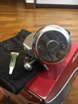 🚚 Fishing reel: Accurate Extreme 500 Narrow BX2