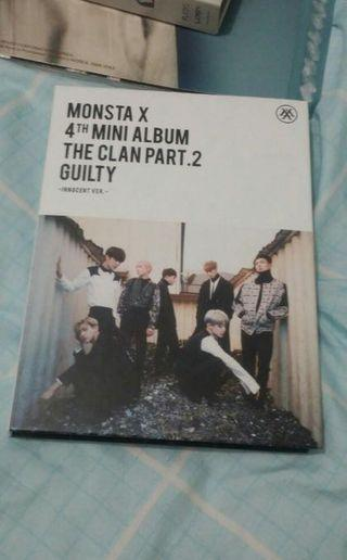 [WTS] Monsta X - The Clan Pt 2 Gulity Album