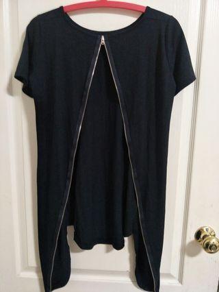 🚚 歐美設計師黑色上衣