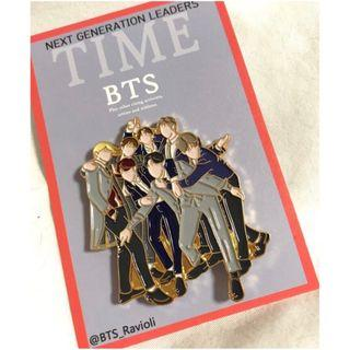 [AUS GO] BTS TIME Badge by @BTS_Ravioli