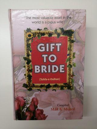 Islamic book: Gift to bride
