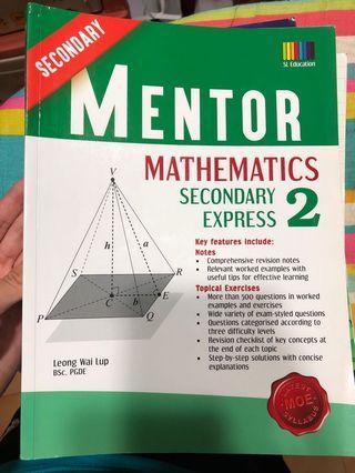 Mentor Mathematics Secondary 2 Express