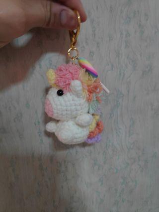 Baby Rainbow Unicorn Crochet Amigurumi