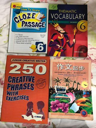 Assorted Assessment books