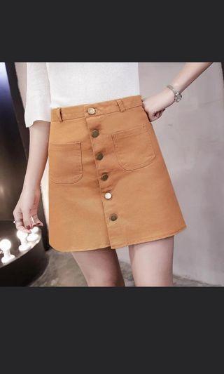 Bn button down skirt