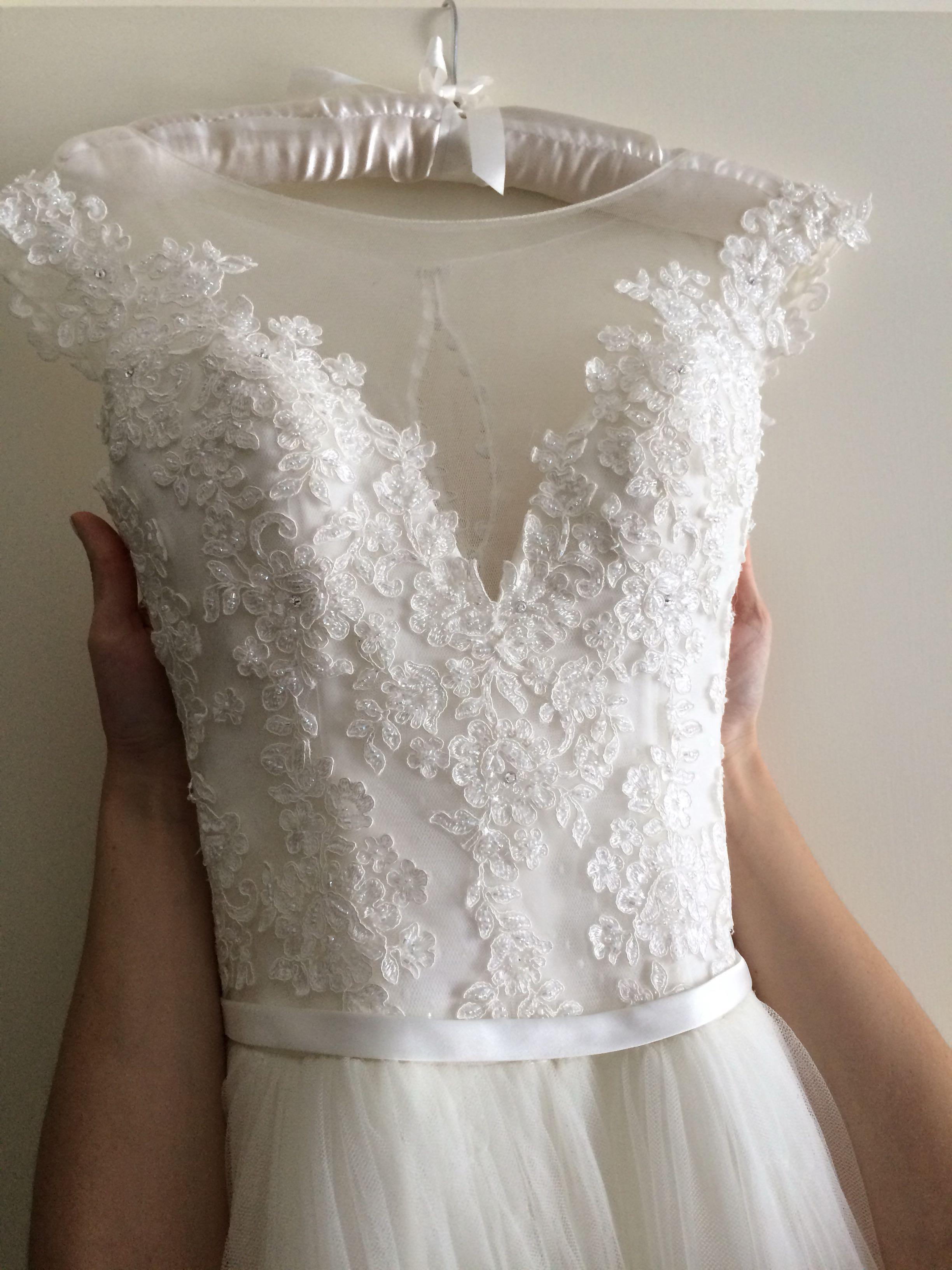 $5000 Demetrios Custom-made Wedding dress
