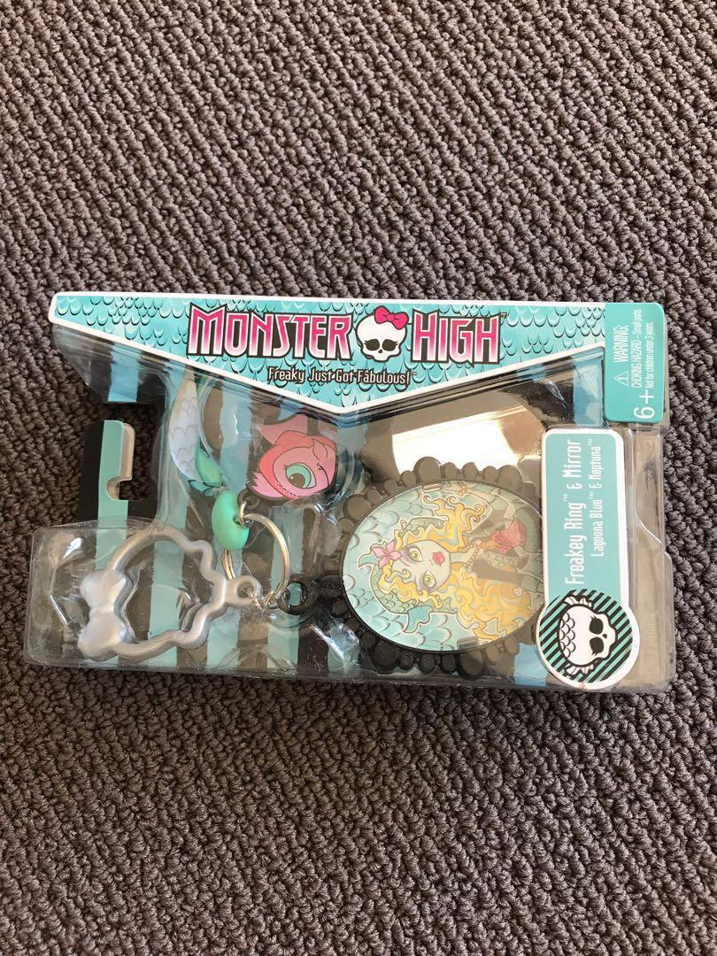 Monsters High Freakey Ring & Mirror x 8 $20 for the lot!!