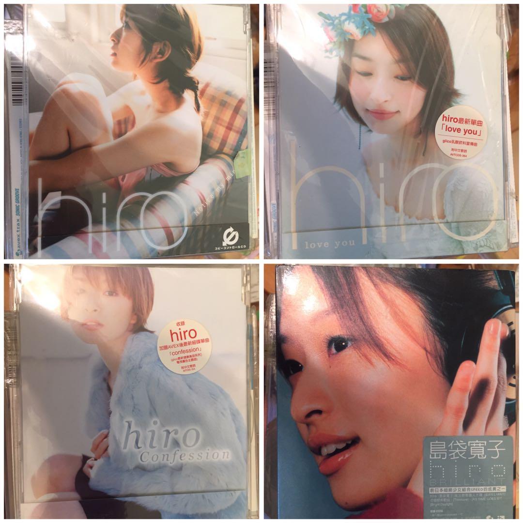 近全新 日本女子組合Speed成員島袋寬子hiro CD DVD 大量可議價